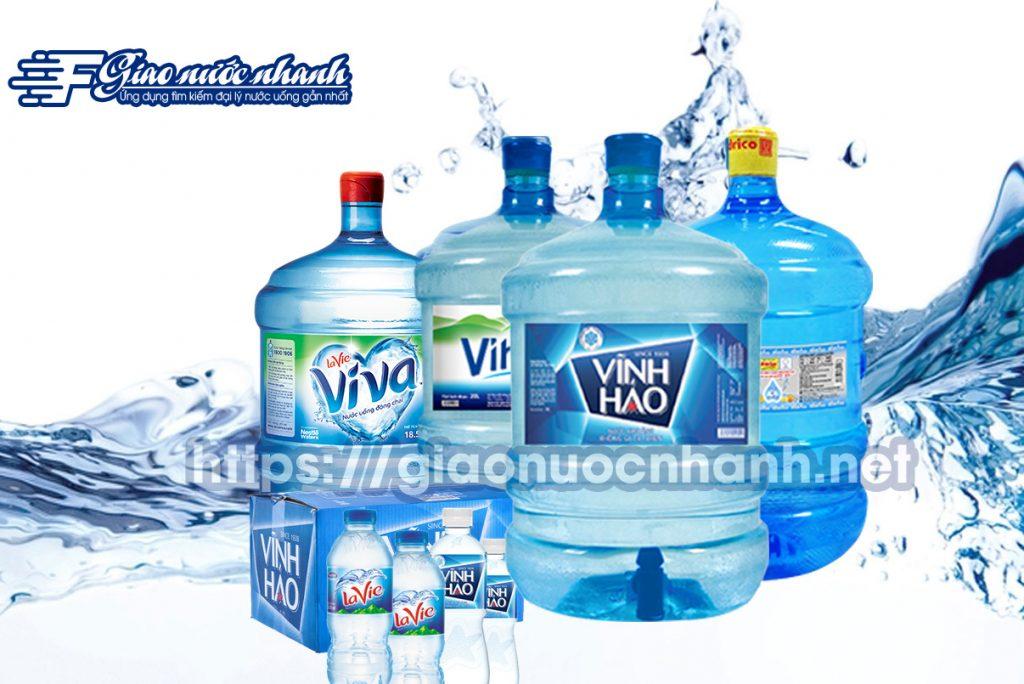 Đại lý giao nước uống