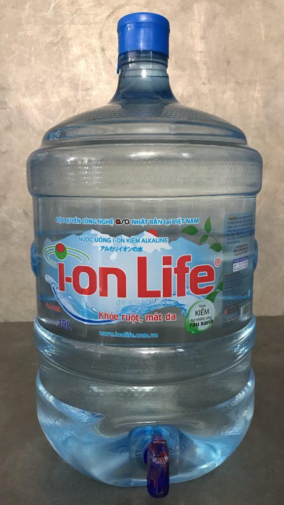 Nước kiềm Ion Life bình 19L